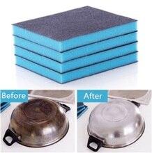 Nanometer Diamond Sand Sponge Descaling Clean Magic Pan Pot Windows Cleaning Brush Home Kitchen Portable Tool Kitchen Accessorie