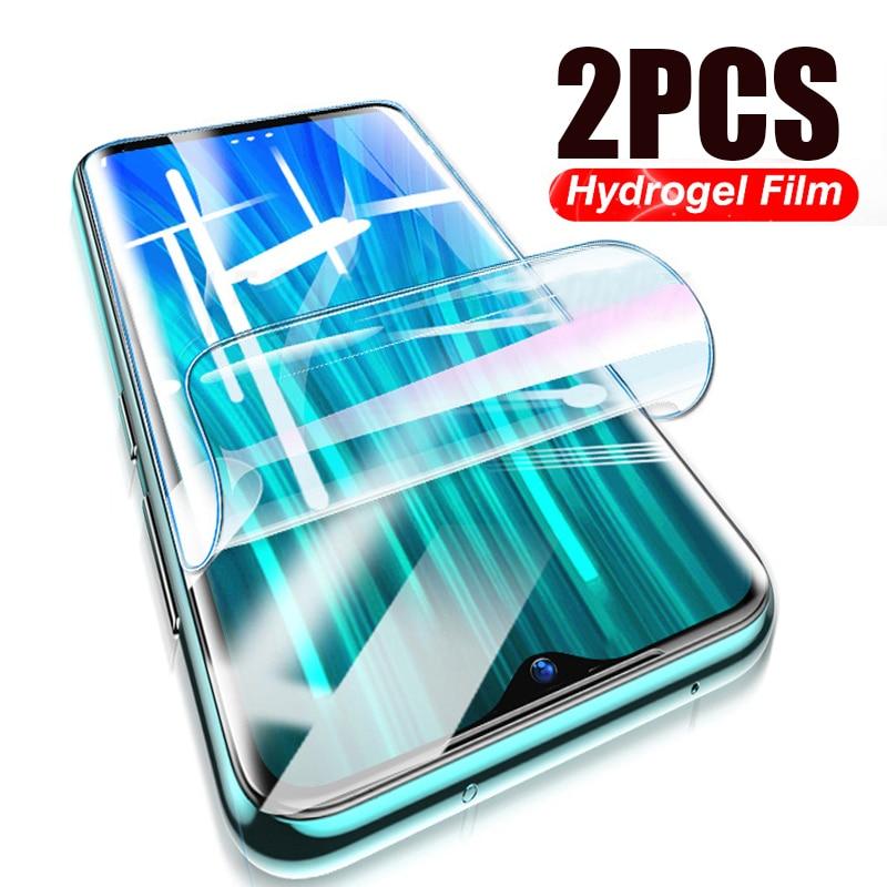 Película de hidrogel de cobertura completa para OPPO Realme X X2 / 3 / 5 Pro Pantalla de tpu Protector suave Nano Protector a prueba de explosiones para OPPO K3