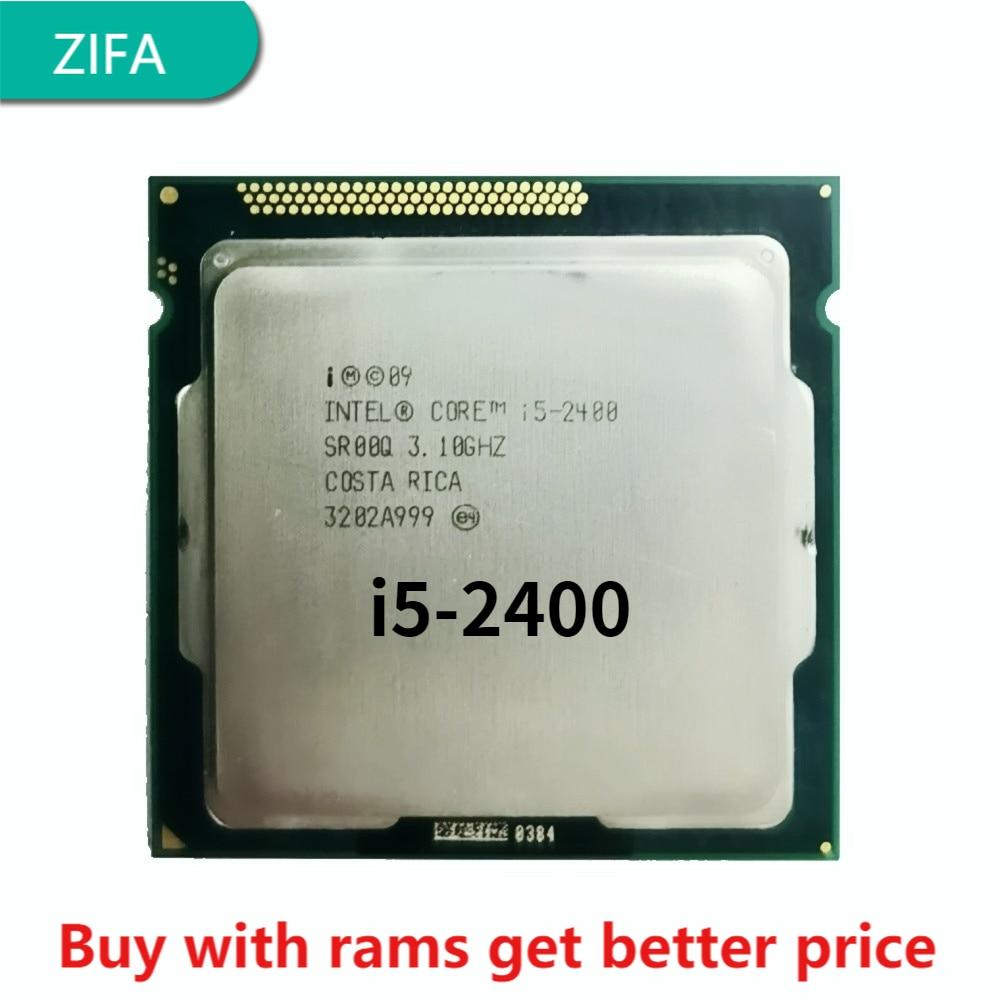 I5-2400 3.1G 6M 4 النواة 4 الموضوع 95w LGA1155 المعالج سطح المكتب ddr3 ذاكرة عشوائية