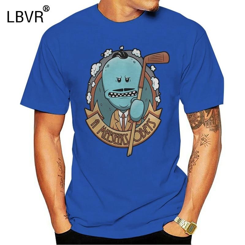 Забавные футболки, Забавные футболки A Meeseeks Obeys, модная мужская футболка
