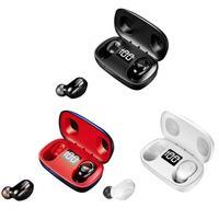 S9 Bluetooth 5,0 наушники стерео мини TWS HiFi вкладыши беспроводные гарнитуры с микрофоном Hands-free светодиодный цифровой дисплей для путешествий