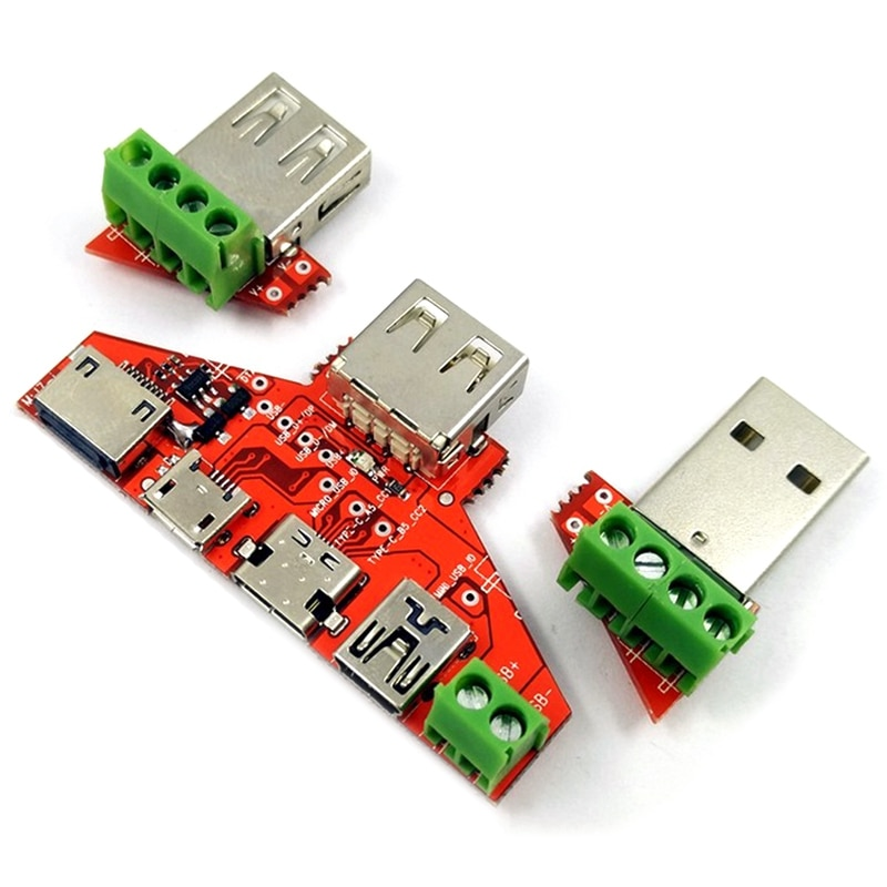 Peças quentes dos instrumentos do monitor da capacidade de amperímetro do medidor do verificador de usb para a relação de apple tipo-c micro-tipo mini adaptador de cabo usb con
