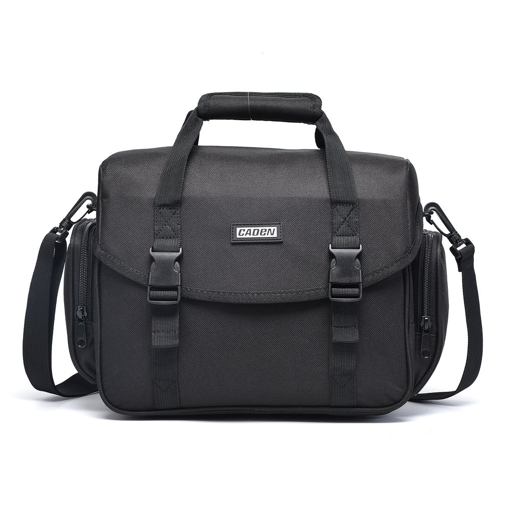 CADEN Waterproof Camera Bag Shoulder Handbag Multi-functional Photo Bag For Canon Nikon Sony DSLR Digital Camera Case Outdoor