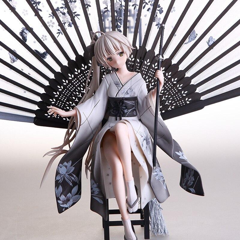 Japan Anime Yosuga no Sora Kasugano Sora Kimono Ver. Sexy girls PVC Action Figure Collection Model Toys Gift Dropshipping 26cm