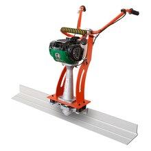 Máquina de nivelación de piso de concreto 18 cm de ancho 2 metros de largo 1.2HP a gasolina regla de suelo de concreto pavimento