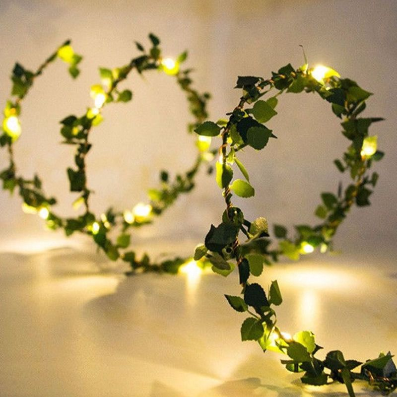 kzkrsr 3 5m 0 5m 3m 3m 6m 3m led curtain icicle string light led fairy lamp for christmas holiday wedding party garland decor 3M/5M/10M Led String Lights Leaf Fairy Garland Light Decoration Bedroom USB Lamp Holiday Light For Christmas Party Bedroom Home