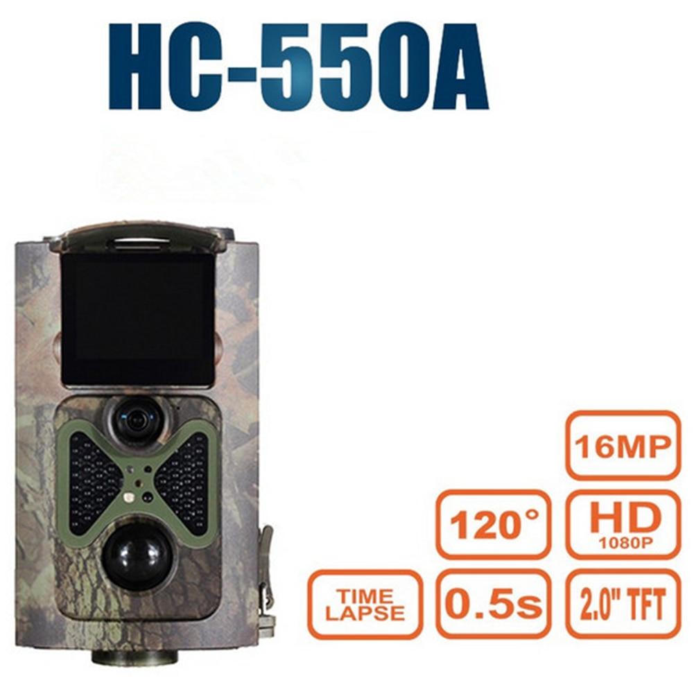 Cámara de vigilancia SUNTEKCAM para HC-550A, caza, vida silvestre, IR, visión nocturna, juego, cámara infrarroja, 1080P, 16MP, foto, vídeo, trampa