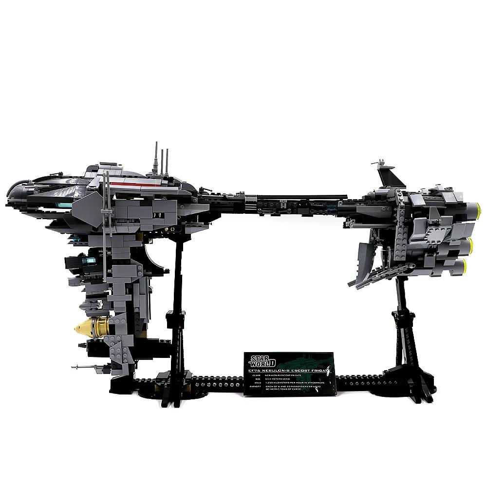 En stock 81070 1736 Uds. Bloques de construcción de ladrillos Nebulon Modelo B juguete educativo compatible con 05083 envío gratis