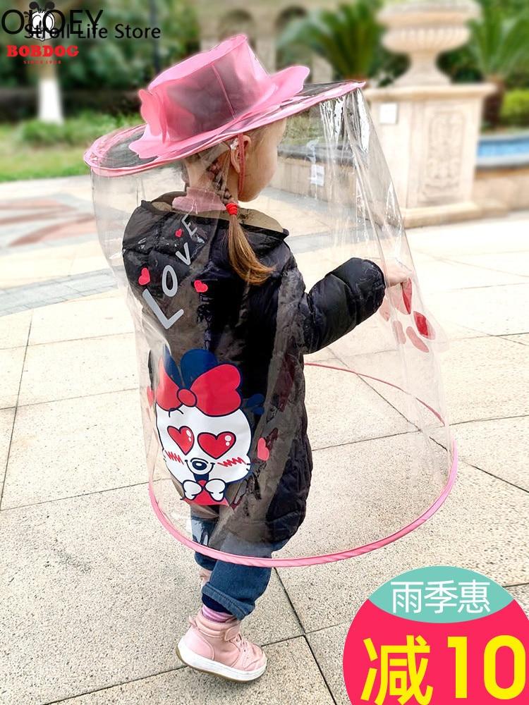 Boys and Girls Full Coverage Capsule Rain Gear Creative Kids Clear Raincoat Protective Anti-spray Cute Rain Poncho Children 2021 enlarge