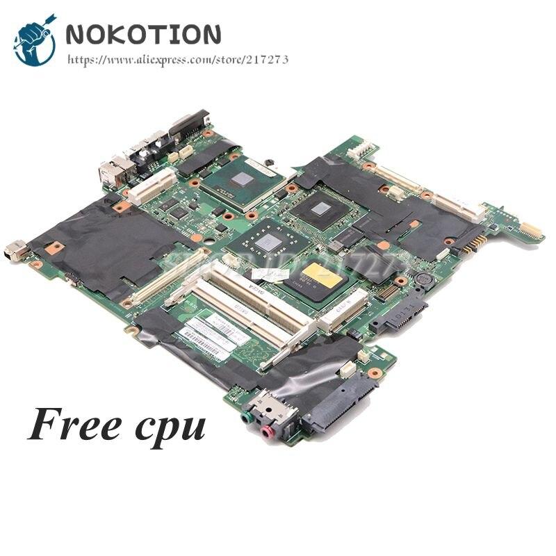 NOKOTION لينوفو ثينك باد T400 R400 14 بوصة اللوحة الأم للجهاز المحمول 63Y1187 42W8127 60Y3749 اللوحة الرئيسية DDR3 وحدة المعالجة المركزية الحرة