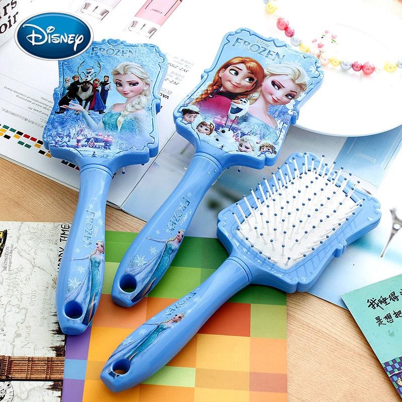 Дисней холодное сердце принцесса расческа Анна Эльза Антистатические волосы уход за волосами Детские Девочки платье макияж день рождения подарки для детей