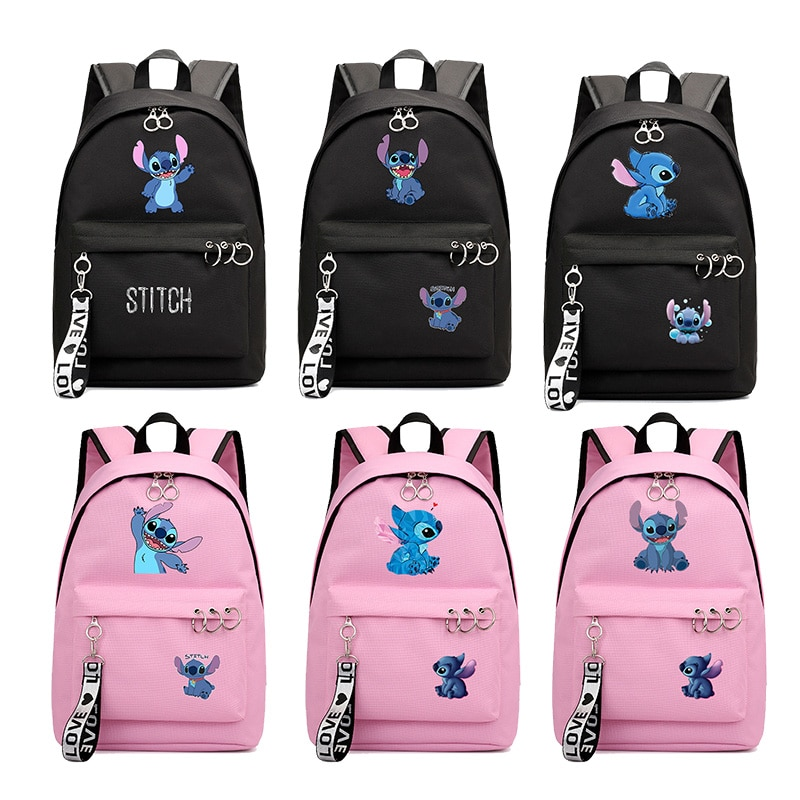 Mochila de punto de Anime, Mochila de viaje para ordenador portátil, mochilas de punto, mochilas escolares para adolescentes, Mochila informal para niñas, Mochila