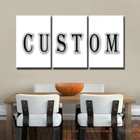 custom make any your pictures for home decor wall art canvas painting landscape animal movie and game poster star photo gifts