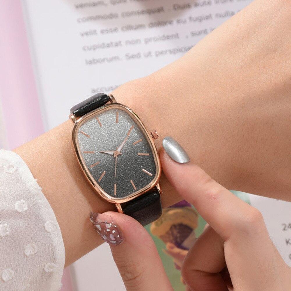 5pcs / Set Bracelets Quartz Watch For Women Luxury Dresses Jewelry Suit Color Clocks Ladies Watches 2020 Pink Brand Wristwatch enlarge