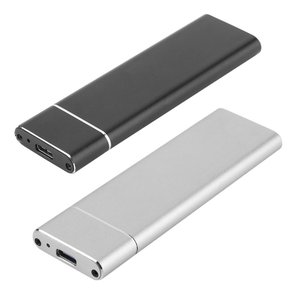 M2 SSD caso USB 3,1 tipo C a M.2 NGFF SSD carcasa Adaptador 6Gbps duro externo carcasa de disco tipo-C 3,1 B-clave M.2 SSD caja