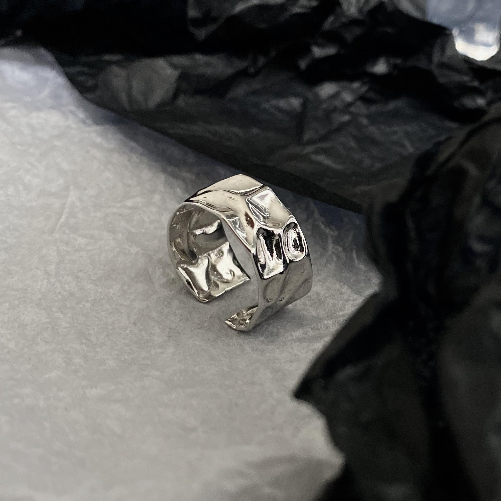 Европейская и американская индивидуальность, металлическая нестандартная Оловянная фольга в стиле ретро для расширения кольца, характерн...