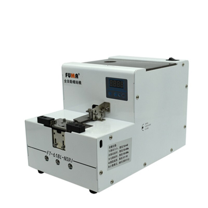 Máquina automática alimentadora de tornillo transportador máquina de arreglo de tornillo 1,0-6,0mm AC100-240V