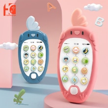 Baby Mobile Phone Toys Light Up Mobile Music Baby Play Music Kid Chinese English Develop Education T