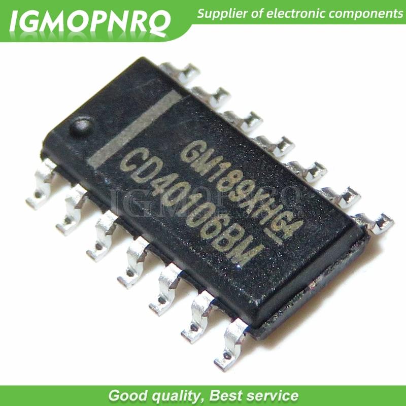 Free shipping 10pcs/lot CD40106 HCF40106 CD40106BM  SOP-14 new original