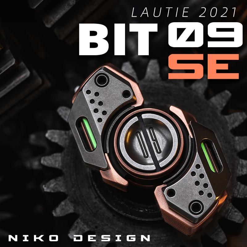 New BIT09SE Fingertip Gyro Mecha Style EDC High Speed Silent Lasting Fingertip Toy