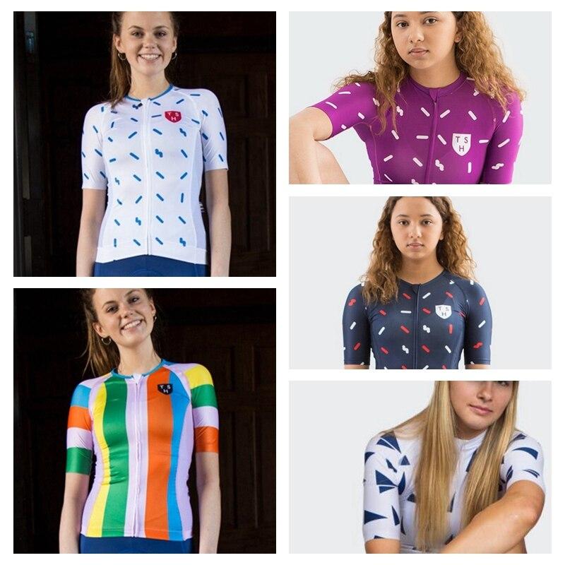 Diez héroe de velocidad ciclismo Tops chicas 2020 TSH transpirable ciclismo Jersey verano manga corta Jersey ciclismo carretera camisetas