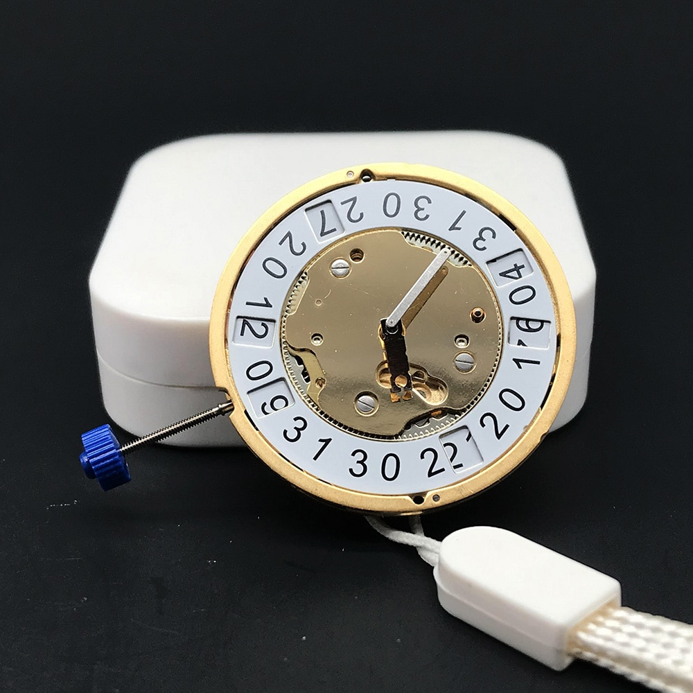 5020.B 5020B Original Swiss Parts Golden Mechanism Replacements Top Brand Watch Movement 10 Jewels Ronda Quartz Watch Movement enlarge
