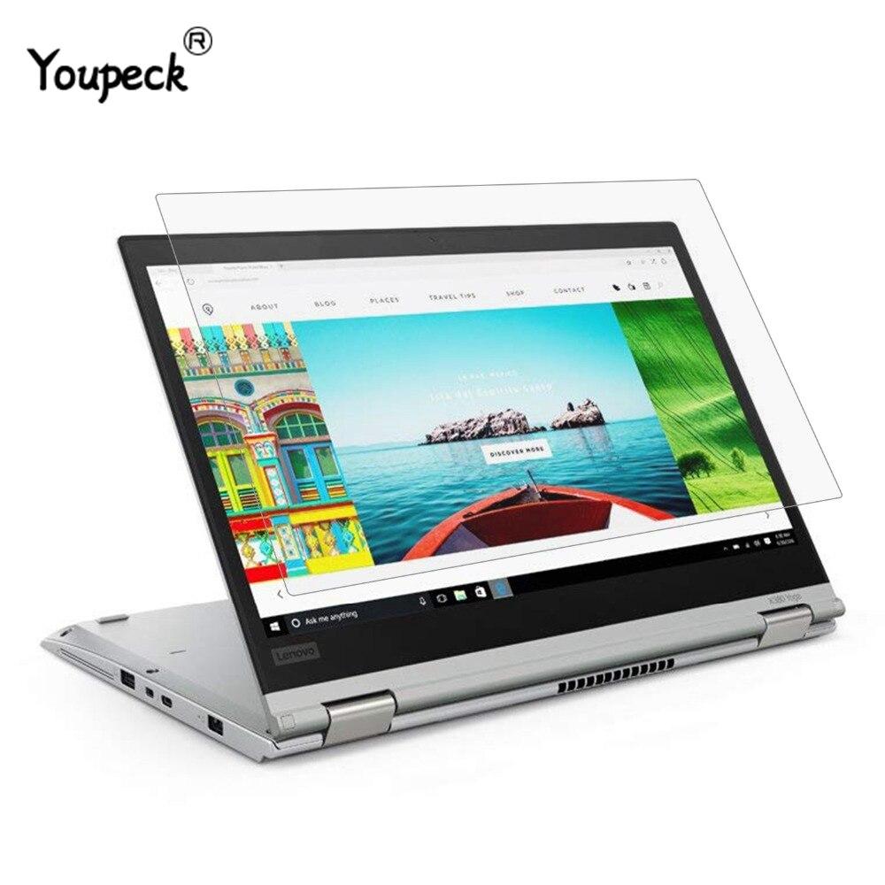 YOUPECK 13,3 дюйма защитная плёнка для экрана ноутбука для Lenovo ThinkPad X380 X370 Yoga Notebook универсальная HD кристальная защитная пленка 2 шт