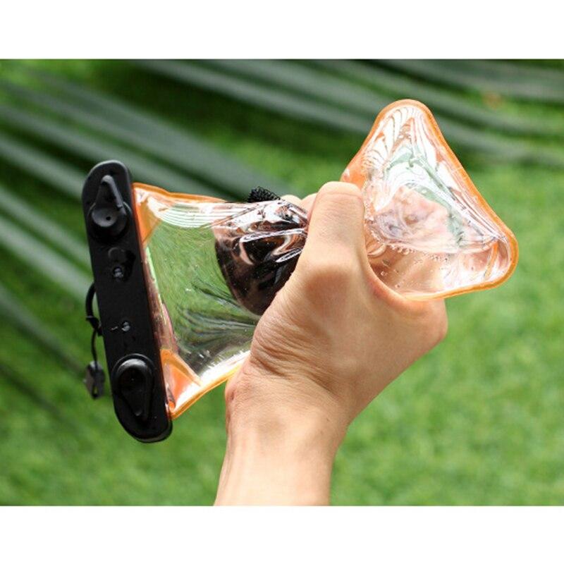 Bolsa del teléfono móvil impermeable del verano cubierta de la caja del teléfono móvil natación playa bolsa seca Gadget de natación para Camping accesorios de esquí