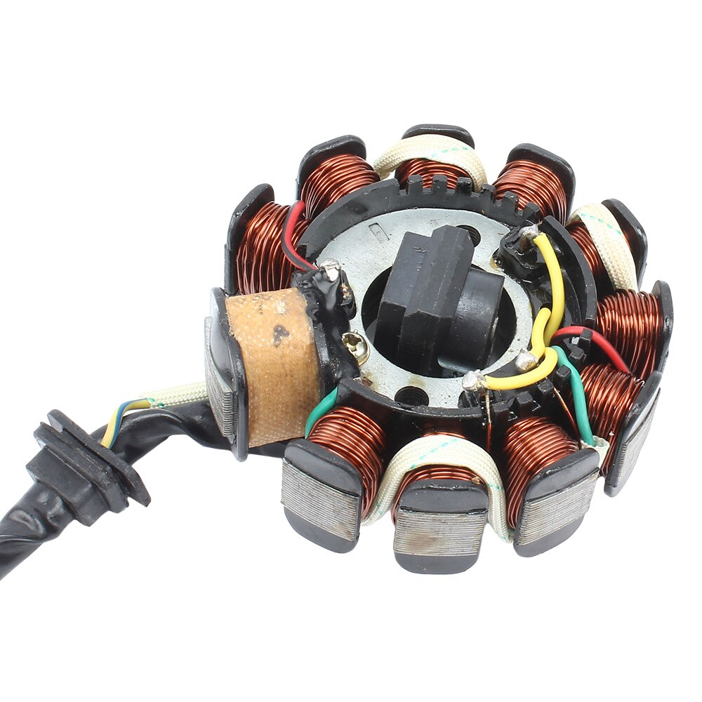 Motorcycle Ignition Magneto Stator Coil GY6-11 Poles Suitable For GY6-125CCG To 200CC Electric Start Engine Motorcycle Accessori