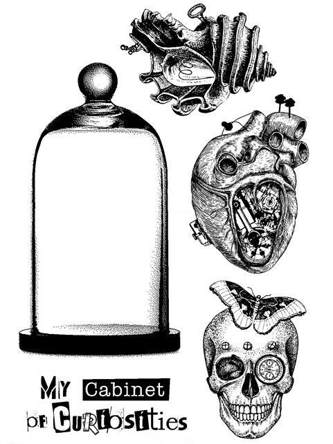 Cráneo claro sello de silicona/sello para DIY scrapbooking/álbum de fotos decorativo claro sello hojas ST0538