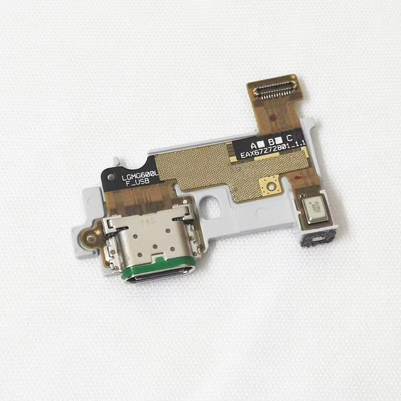 5 unids/lote puerto de carga conector Flex Cable para LG G6 G600...