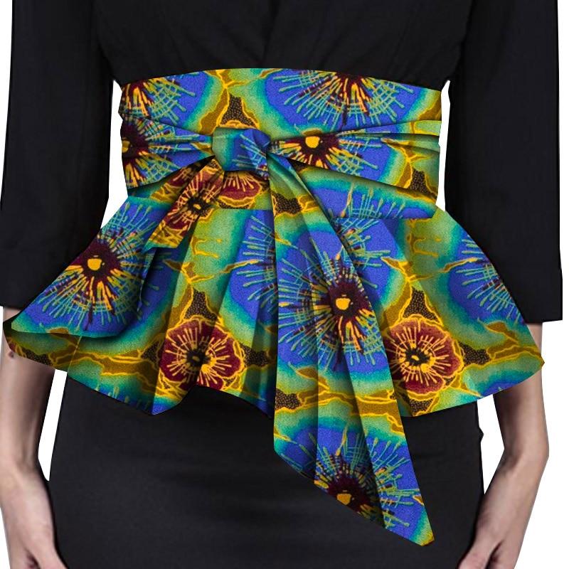 Afripride-تنورة ملفوفة للنساء الأفريقيات ، عالية الخصر ، خط A ، أفضل الملابس غير المتكافئة ، مجوهرات الخصر ، SP108
