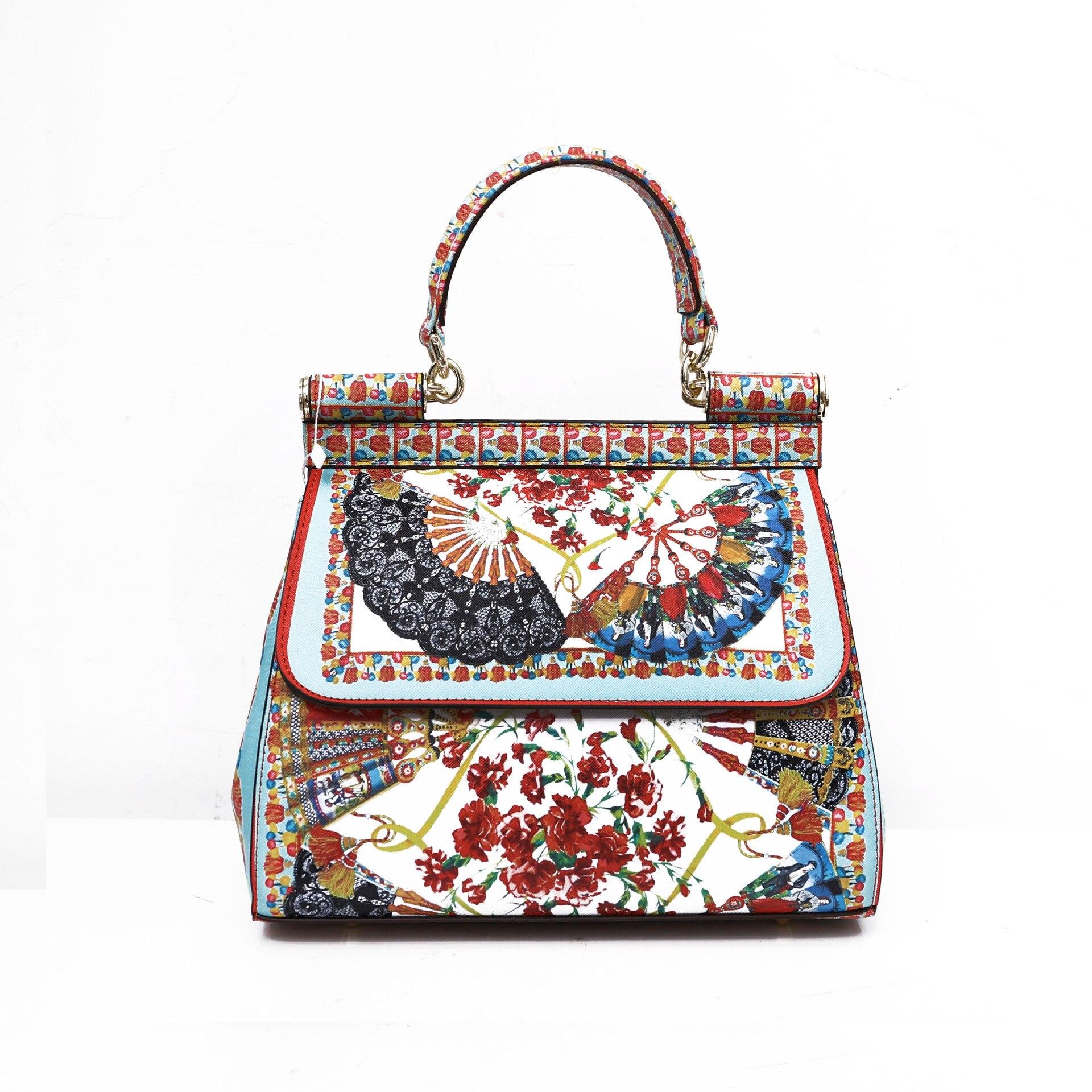 حقيبة يد عصرية بطباعة 2021 ، حقيبة للسيدات ، حقيبة نسائية فاخرة أوروبية وأمريكية