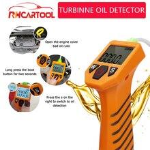 Probador de aceite de motor OBD2 para coche, Detector de calidad de aceite con pantalla LED, Analizador de Gas, herramientas de prueba de coche