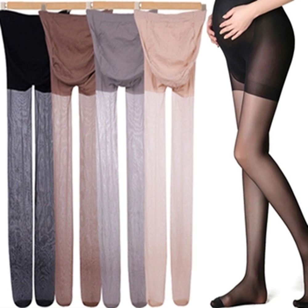 1pc Adjustable Maternity Leggings Pregnancy Clothes Maternity Pants Pregnant Women Pantyhose Silk Stockings Maternity Clothes