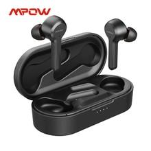 Mpow M9 In-Ear Earphones Wireless Bluetooth 5.0 with Mic IPX7 Waterproof TWS Earphone 40Hrs Playtime