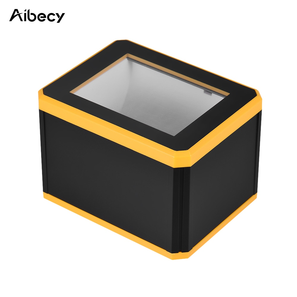Aibecy omnidireial الباركود الماسح الضوئي منصة 1D/2D/QR قارئ الباركود الماسح الضوئي العرض مع واجهة USB