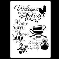 a3 42 29 cm coffee diy stencils wall painting scrapbook coloring embossing album decorative paper card templatewall stencil