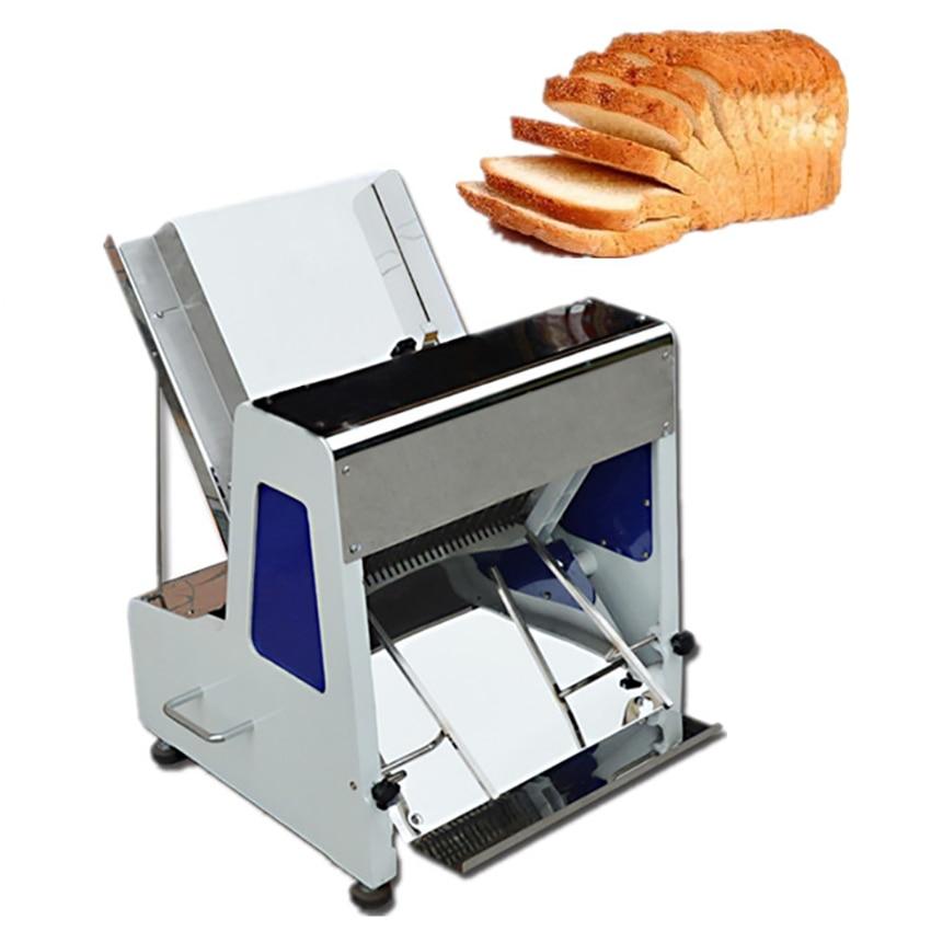 SS-31 قطاعة الخبز الكهربائية الفولاذ المقاوم للصدأ التجارية قطاعة الخبز ماكينة تقطيع اللحم 31 شرائح من الخبز نخب القطاعة 220 فولت 2500 واط