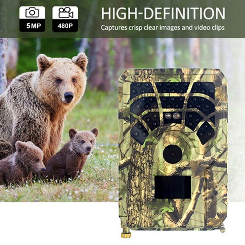 كاميرا JPEG/AVI Trail للحياة البرية بدقة 12 ميجابكسل 1080 بكسل مع خاصية الرؤية الليلية والكشف عن الحركة وكاميرات الصيد الخلوية المحمولة IP65 مصيدة للصو...