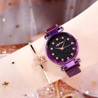 luxury women watches diamond ladies magnetic starry sky clock fashion female quartz wristwatches relogio feminino zegarek damski