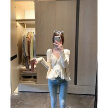 2021 summer women tanks chiffon blouse tops 8895#