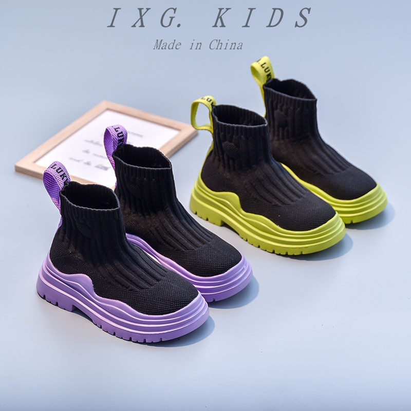 Girls Textile Fashion Boots 810 years Teen Girls Colorful Cool Dance Hiphop Boots