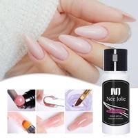1 bottle 20ml poly polish gel liquid slip solution nail quick builder gel nails permanent clear acrylic nail art extension gel