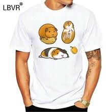 Guinea Pig T Shirt men Summer fashion High Quality tt shirt casual white print O-Neck print male men top tees