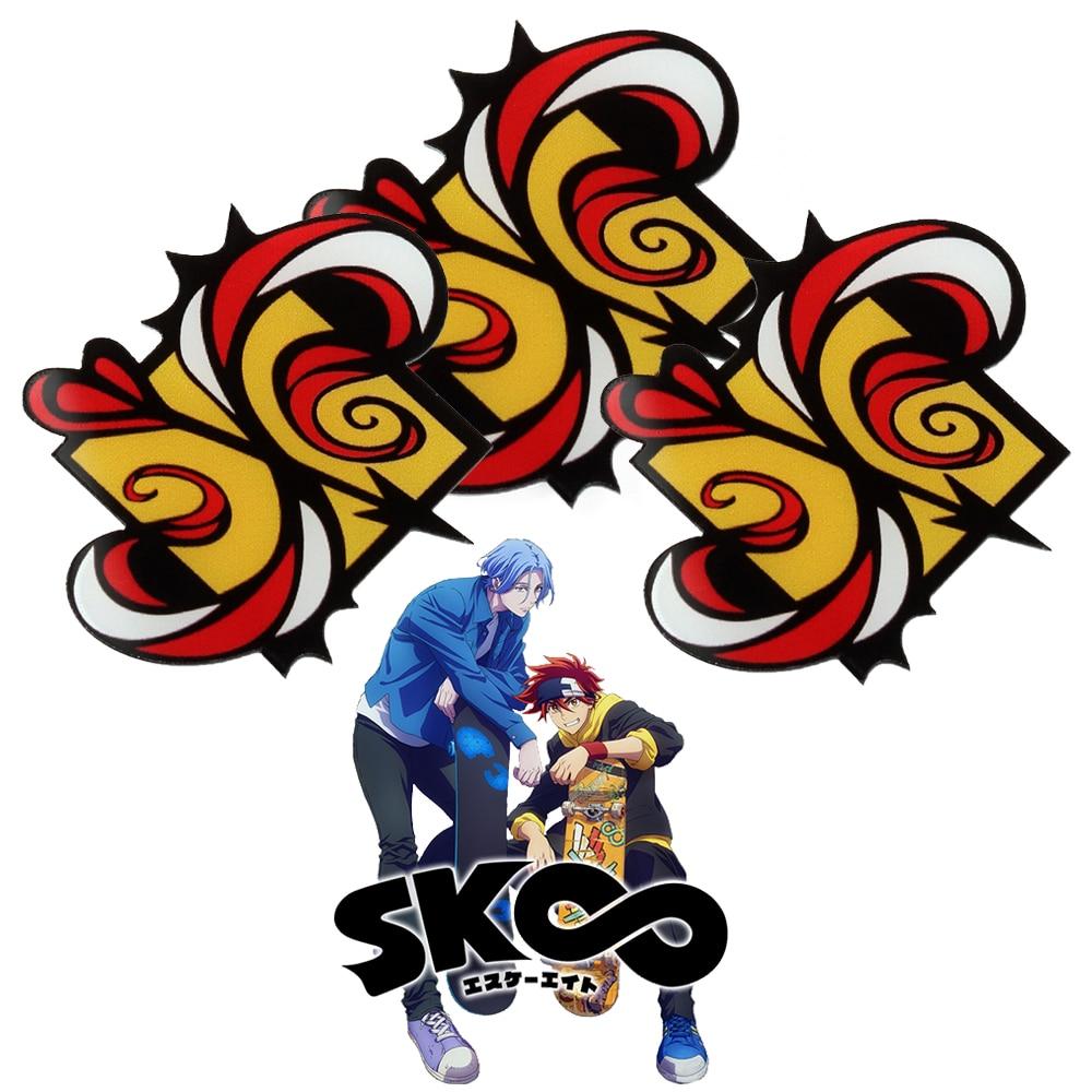 SK8 значки с логотипом Infinity S, броши, Значки для косплея Langa Reki Miya, броши для женщин и мужчин, булавка на лацкан, ювелирное изделие в подарок