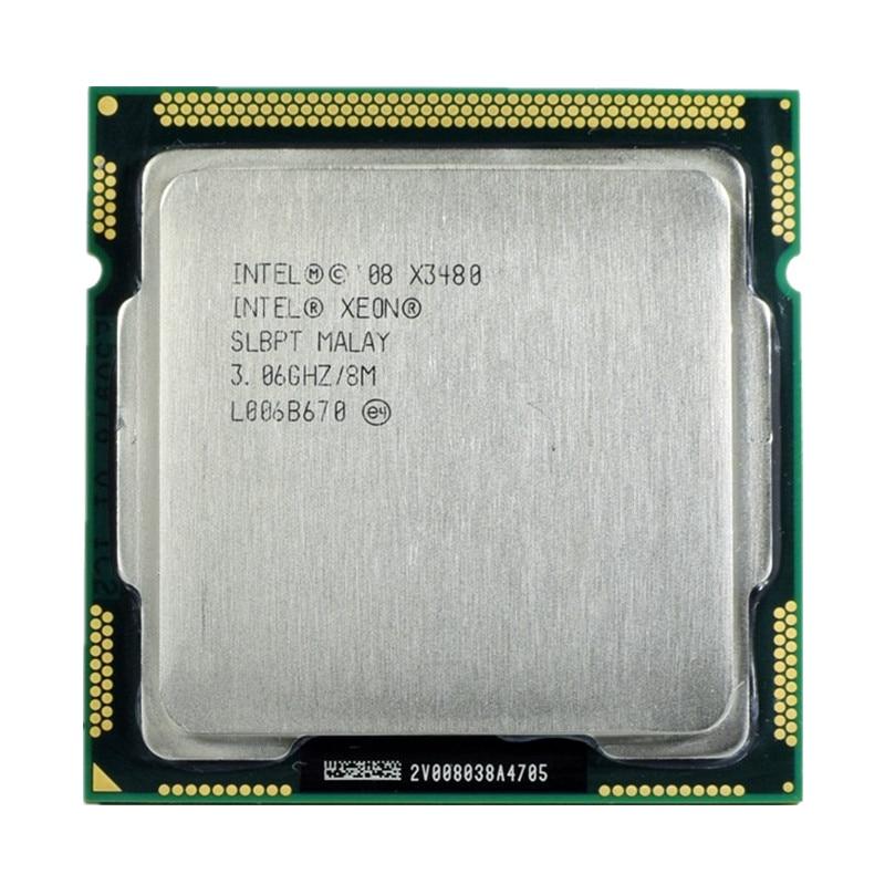 معالج intel Xeon X3480 8 متر كاش 3.06 جيجاهرتز SLBPT LGA1156 يساوي i7 880