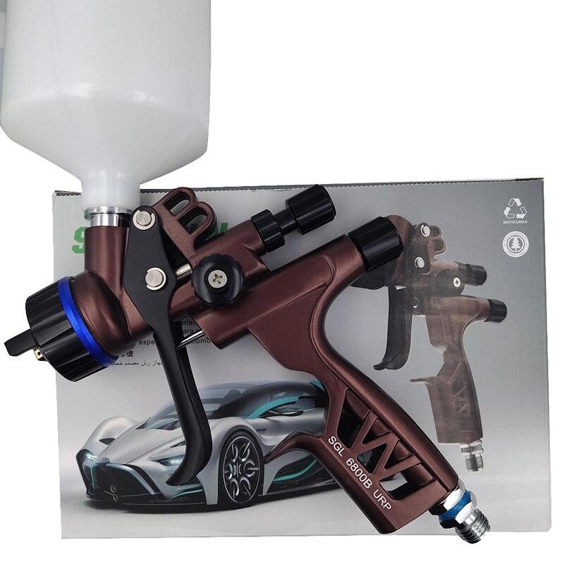 600 مللي HVLP بندقية رذاذ عالية الأداء سيارة علوي الطلاء بندقية رذاذ 1.3 مللي متر فوهة الجاذبية الهوائية رشاش دهان السيارات أداة إصلاح السيارات
