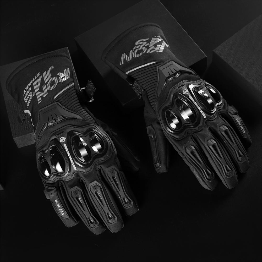 Winter Motorcycle Gloves Waterproof Windproof Moto Gloves Touch Screen Gant Moto Guantes Motorbike Riding Gloves enlarge