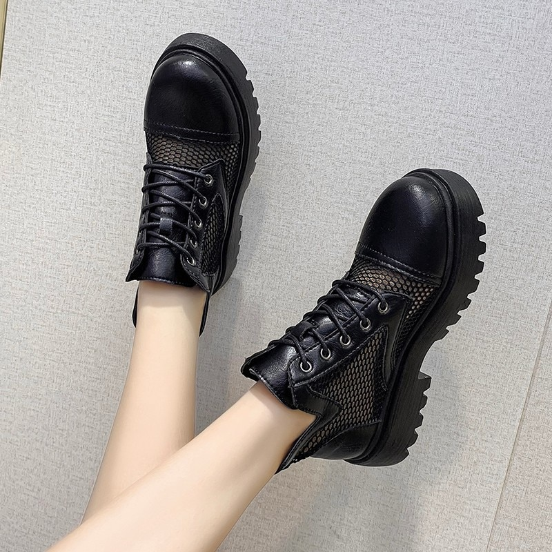 Women Boots Sandals Summer New Fashion Woman Ankle Boots Ladies Shoes Cool Boot Female Shoe Dropship